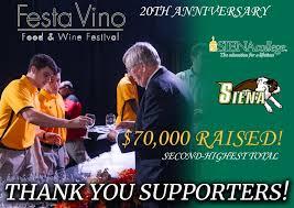 WATCHED: 20th Annual Siena College Festa Vino