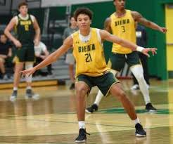 Siena basketball face to face behind closed doors